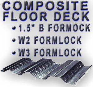 Condeck S Metal Roof Amp Floor Deck Condeck Corporation