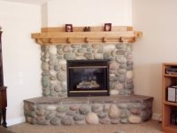 Our Craftsman Mantle with hidden compartment