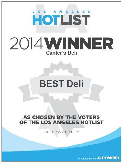 1LA Hotlist Winner - 2014.png