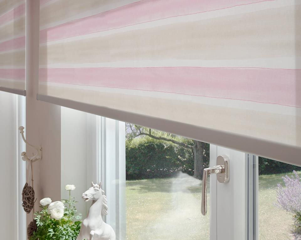Modern and fresh fabrics for roller shades