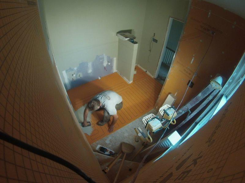Master Bathroom Remodeling Ginter Park During Renovation