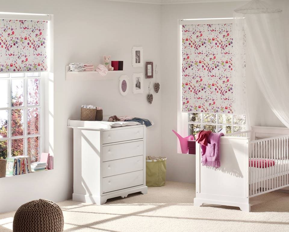 Fun and cute fabrics for kids rooms