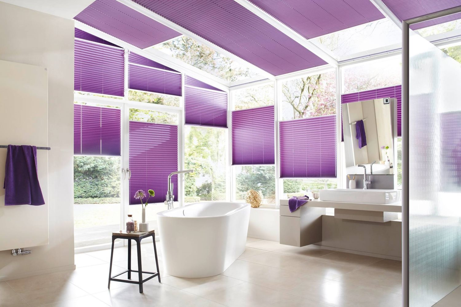 Specialty Blinds for sunrooms